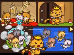 Котики против лисичек