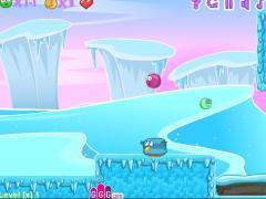 Красный шар и ледяное приключение