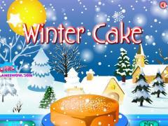 Зимний торт