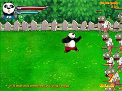 Кунг-фу Панда против Зомби