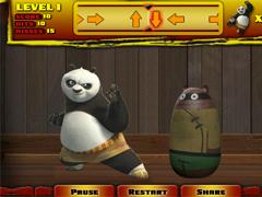 Кунг-фу Панда тренировка