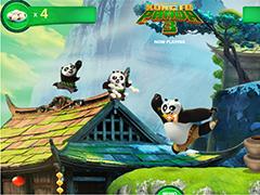 Кунг-фу Панда тренировочный забег