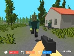 Зомби minecraft играть