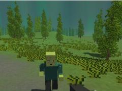 Майнкрафт зомби выживание