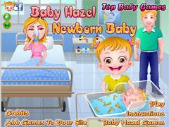 Малышка Хейзел и новорожденный ребенок