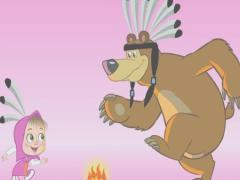 Для девочек Маша и Медведь