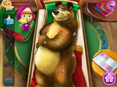 Маша и Медведь в больнице