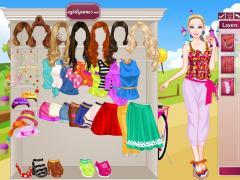 Одевалка: Барби