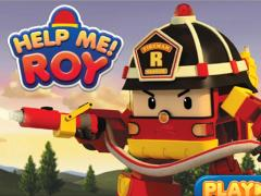 Робокар Поли тушит пожар