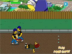 Симпсоны Барт уходит в отрыв