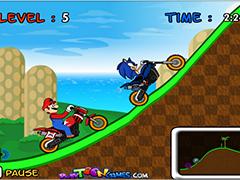 Соник гонки с Марио