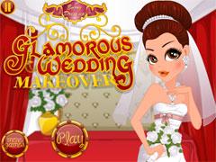 Подготовка к гламурнной свадьбе