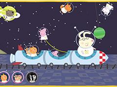 Свинка Пеппа космический экспресс
