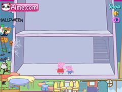 Свинка Пеппа обставляет дом
