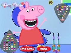 Свинка Пеппа у стоматолога