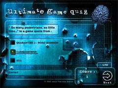 Тесты на знание игр