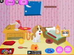Уборка в комнате щенка