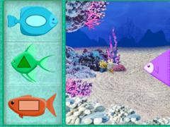 Умизуми наполни аквариум